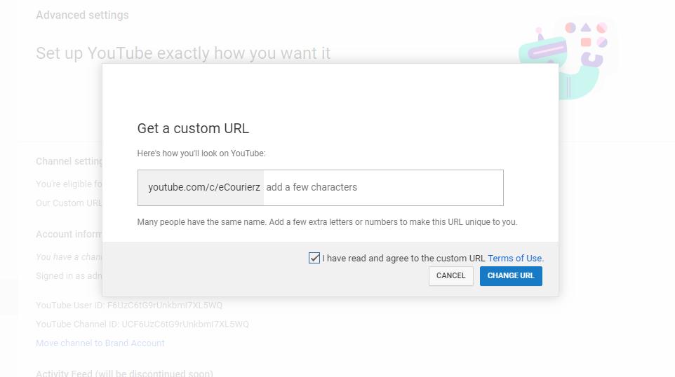 tối ưu hóa nội dung kênh youtube url