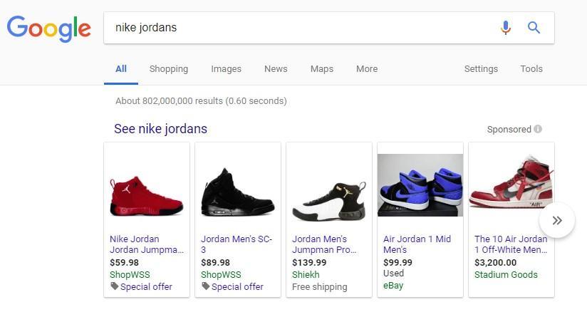 xu hướng quảng cáo google ads shopping